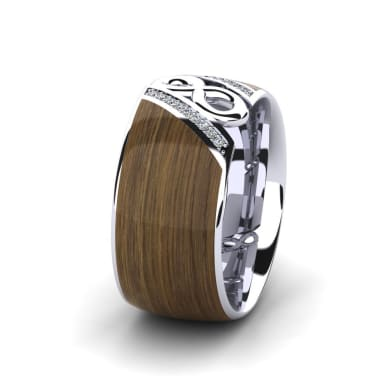 Women's Ring Confident Earth 10 mm