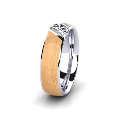 Women's Ring Confident Earth 6 mm