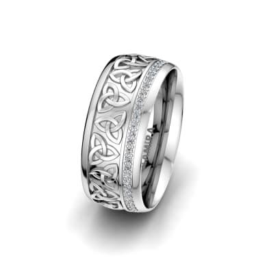 Women's Ring Magic Shield 8 mm