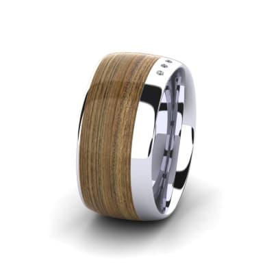 Women's Ring Confident Glow 10 mm