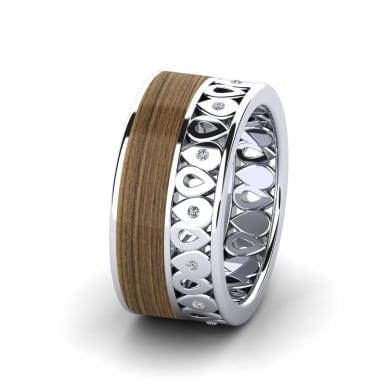 Women's ring Confident Elegance 10 mm