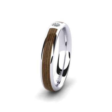 Women's ring Peaceful Step 4 mm