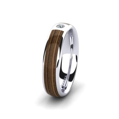 Women's ring Peaceful Step 5 mm