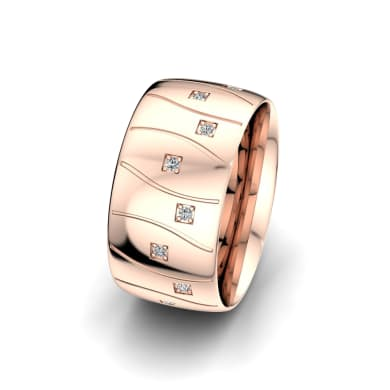 Women's Ring Alluring Light 10 mm