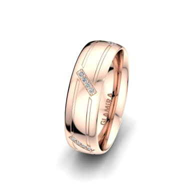 Women's Ring Attractive Beauty 6 mm