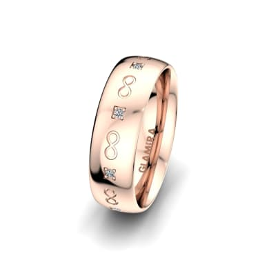 Women's Ring Classic Infinity 6 mm