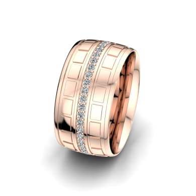 Women's Ring Heavenly Couple 10 mm