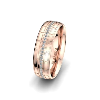 Women's Ring Heavenly Couple 6 mm