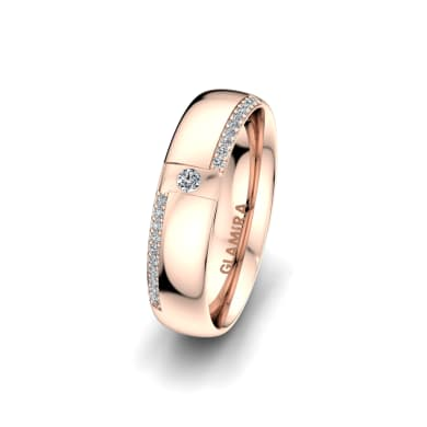 Women's Ring Sensual Waves 5 mm