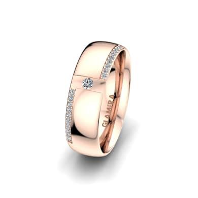 Women's Ring Sensual Waves 6 mm