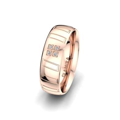 Women's Ring Unique Star 6 mm