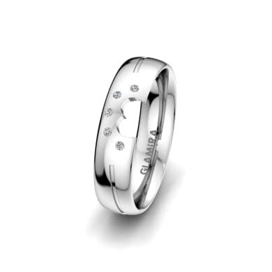 Women's Ring Pretty Wake 5 mm