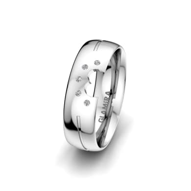Women's Ring Pretty Wake 6 mm