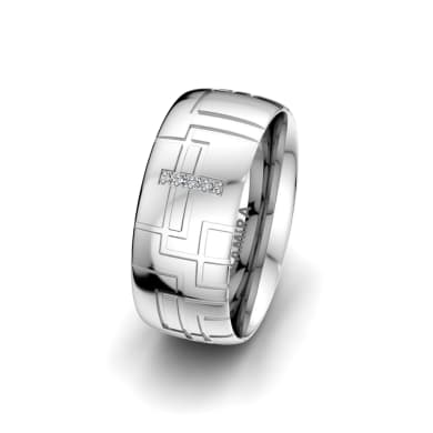 Women's Ring Magic Line 8 mm