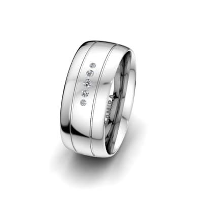 Women's Ring Essential Quenn 8 mm