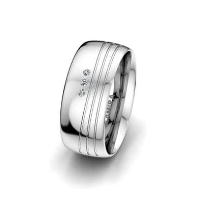 Women's Ring Essential Couple 8 mm