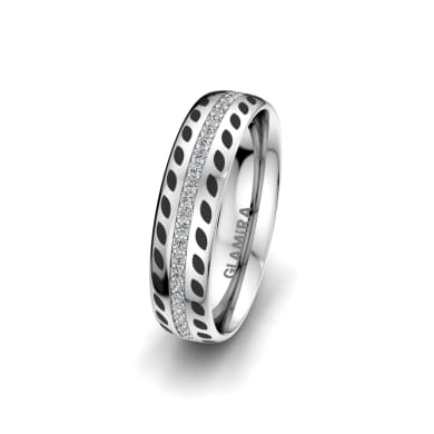Women's Ring Immortal Sparkle 5 mm