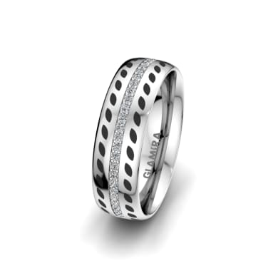 Women's Ring Immortal Sparkle 6 mm