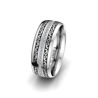 Women's Ring Essential Trend 7 mm