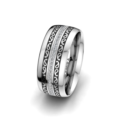 Women's Ring Essential Trend 8 mm