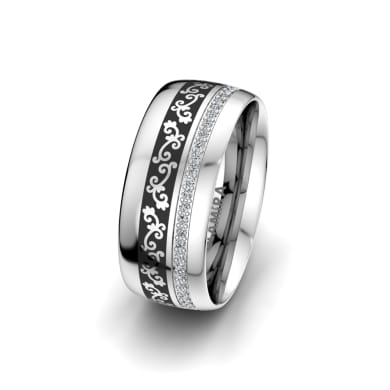 Women's Ring Essential Touch 8 mm