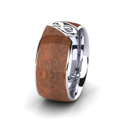 Men's Ring Confident Earth 10 mm