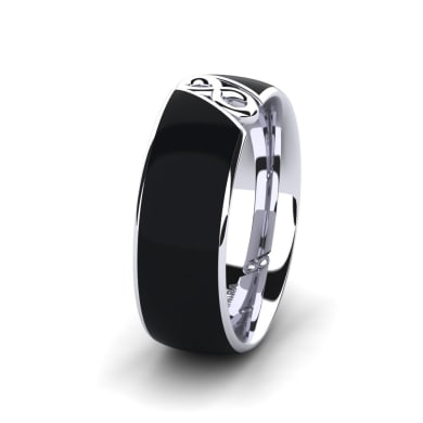 Men's Ring Confident Earth 8 mm