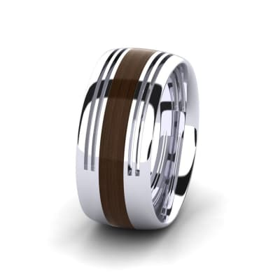 Men's Ring Confident Fay 10 mm