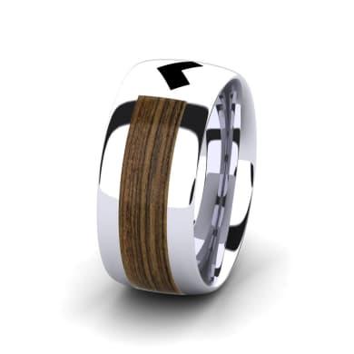 Men's Ring Confident Heart 10 mm