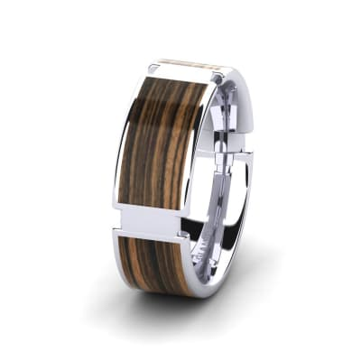 Men's Ring Confident Ivy 8 mm