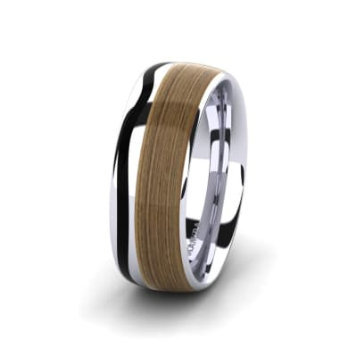 Men's Ring Confident Logic 8 mm