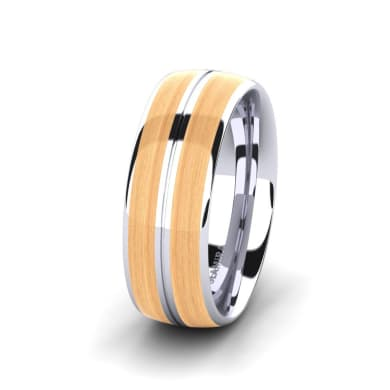 Men's Ring Confident Love 8 mm