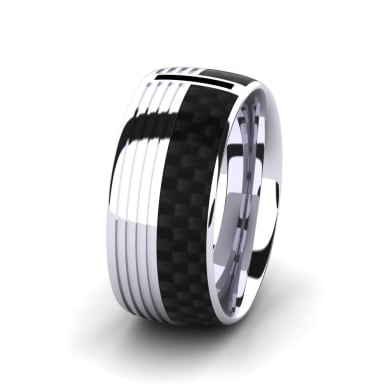 Men's Ring Confident Nature 10 mm