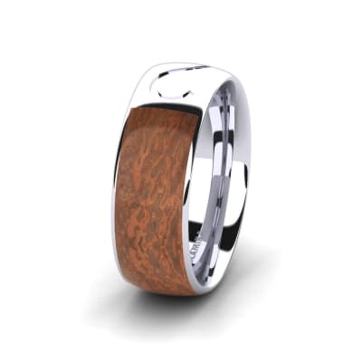 Men's Ring Confident Shine 8 mm