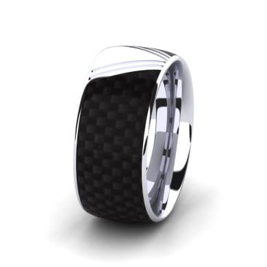 Men's Ring Confident Wind 10 mm