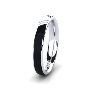Men's Ring Confident Wind 4 mm