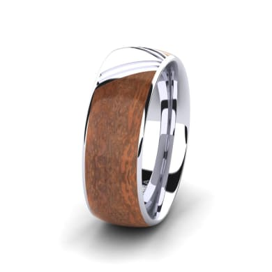 Men's Ring Confident Wind 8 mm