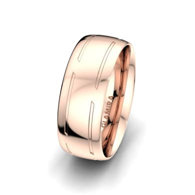 Men's Ring Attractive Beauty 8 mm