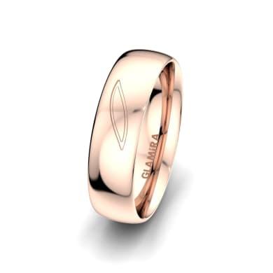 Men's Ring Fever Letter 6 mm