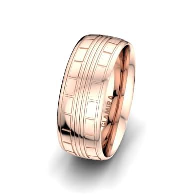 Men's Ring Heavenly Couple 8 mm