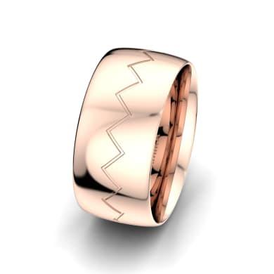 Men's Ring Unique Harmony 10 mm