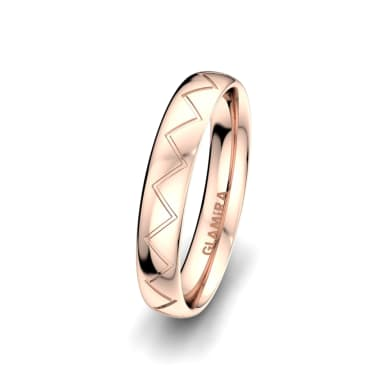Men's Ring Unique Harmony 4 mm