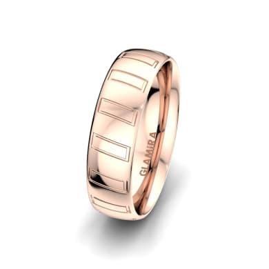 Men's Ring Unique Star 6 mm