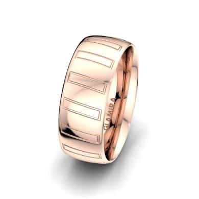 Men's Ring Unique Star 8 mm