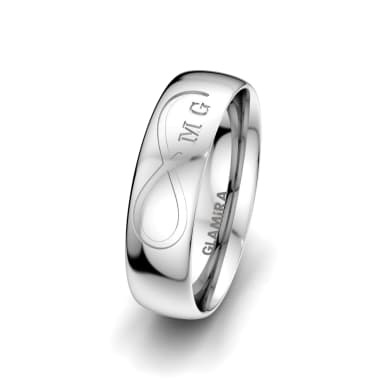 Men's Ring Magic Rose 6 mm