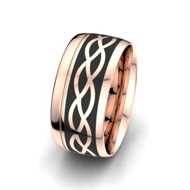 Men's Ring Mystic shape 10 mm