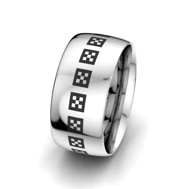 Men's Ring Pure Garden 10 mm