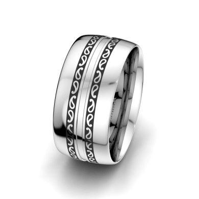 Men's Ring Essential Trend 10 mm