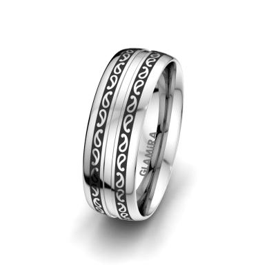 Men's Ring Essential Trend 7 mm