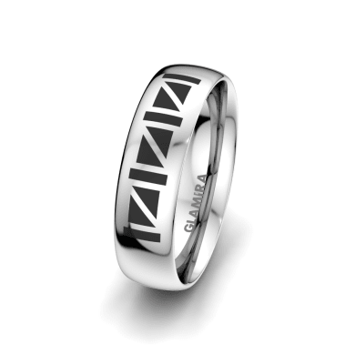 Men's Ring Essential Luck 6 mm